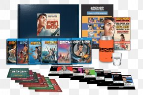 Archer - San Diego Comic-Con 4Kids TV Box Set Television Show FOX PNG