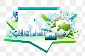 Global Internet - Global Internet Usage Illustration PNG