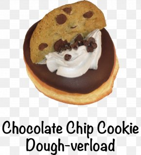 Chocolate Chip Cookies - Donuts Cream Fritter Muffin Food PNG