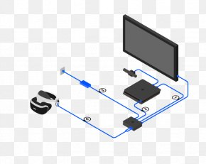 Virtual Reality Headset TV - PlayStation VR PlayStation 4 Wiring Diagram Virtual Reality Headset PNG