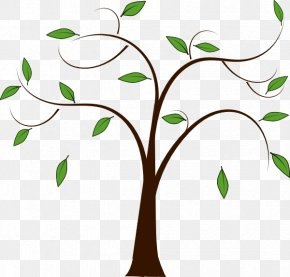 Family Tree - Tree Branch Trunk Clip Art PNG