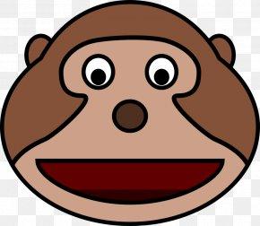 Cartoon Animals - Ape Chimpanzee Monkey Clip Art PNG