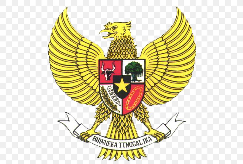 national emblem of indonesia pancasila garuda png 523x554px indonesia art beak bhinneka tunggal ika bird download indonesia pancasila garuda png