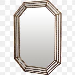 Mirror - Mid-century Modern Mirror Interior Design Services House PNG
