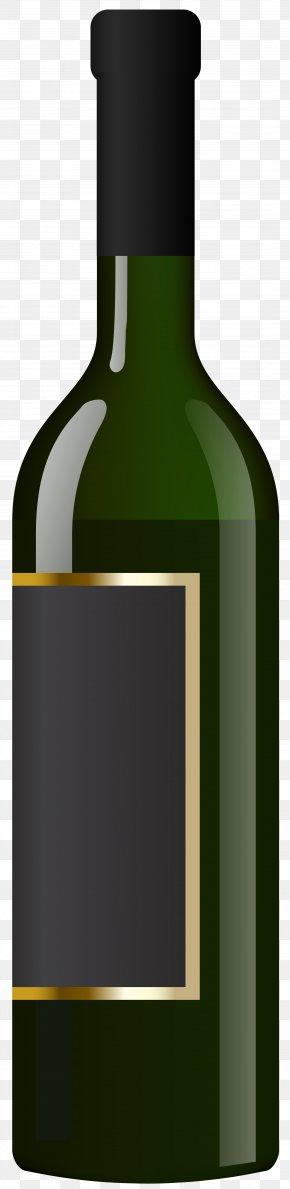 Wine Bottle Transparent Clip Art Image - Red Wine White Wine Bottle Clip Art PNG