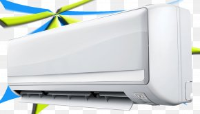 Air Conditioner - Fan Air Conditioner Wind Energy Conservation Product Marketing PNG