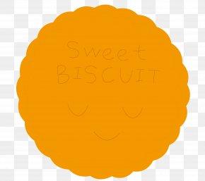 Yellow Circle - Yellow Circle Orange Font PNG