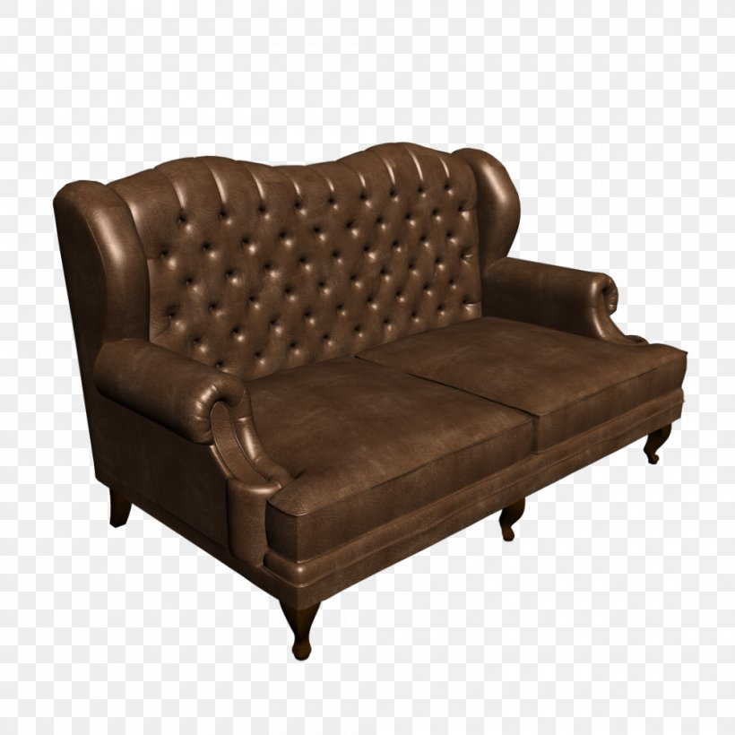 Couch Furniture Sofa Bed Recliner Chair, PNG, 1000x1000px ...