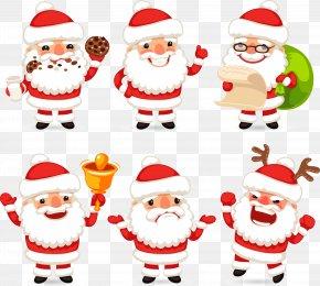 Vector Santa Claus - Ded Moroz Santa Claus Christmas Ornament Clip Art PNG
