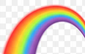 Rainbow Transparent Clip Art Image - Rainbow Sky Font PNG