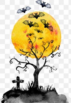 Halloween Design Elements - Halloween Cemetery PNG