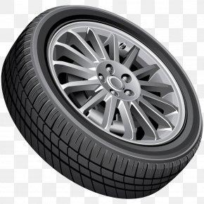 Black Car Tires - Car Wheel Clip Art PNG