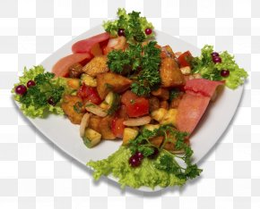 Salad - Fattoush Caesar Salad Barbecue Chicken Caprese Salad Food PNG