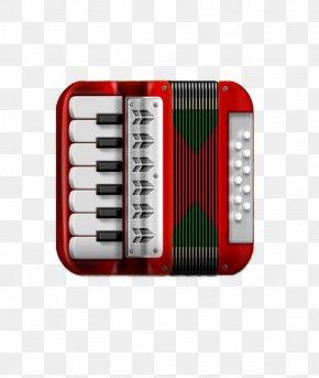 Accordion UI Icon - Diatonic Button Accordion User Interface PNG