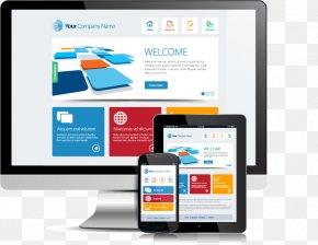 Smartphone Tablet APP Show - Web Development Responsive Web Design Website Web Hosting Service PNG