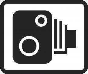 Camera Logo - Traffic Enforcement Camera Speed Limit Traffic Sign Clip Art PNG