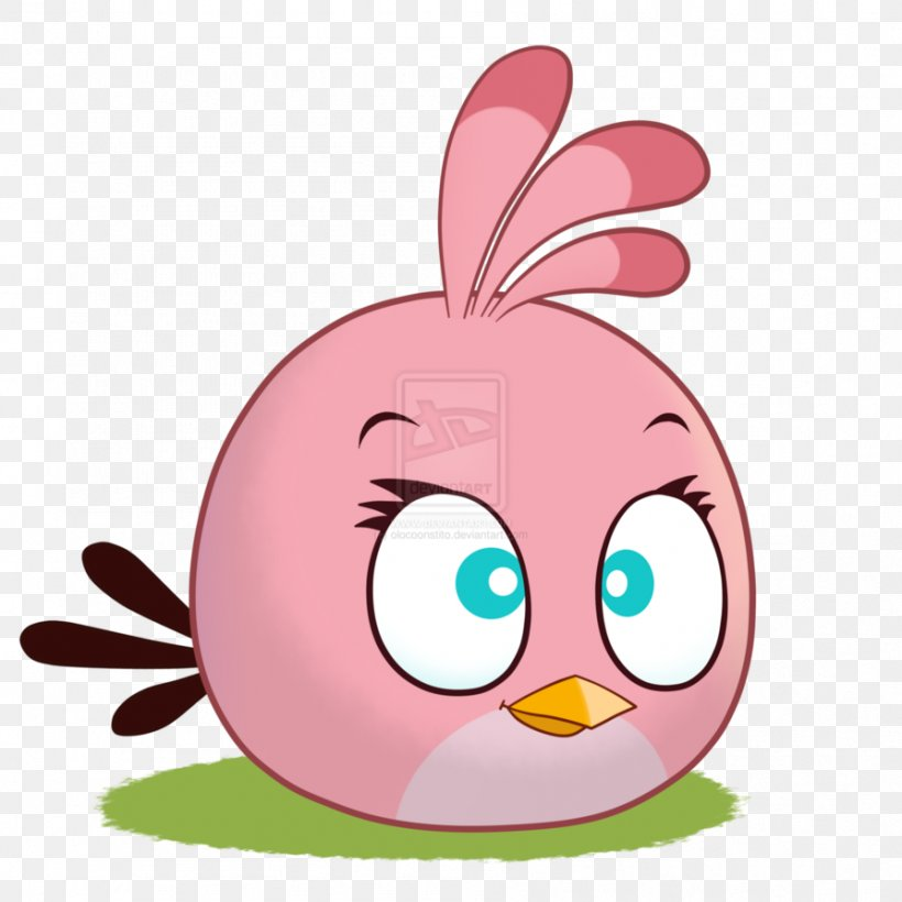 Stella angry bird coloring page - Easydrawingstokids | 820x820