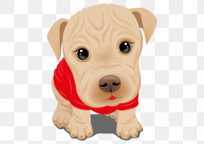 Vector Cartoon Puppy - Dalmatian Dog Dachshund Pug Chihuahua Maltese Dog PNG
