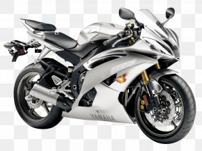 Yamaha R6 Liquid Silver Motorcycle Bike - Yamaha Motor Company Yamaha YZF-R6 Motorcycle Yamaha YZF-R1 Sport Bike PNG