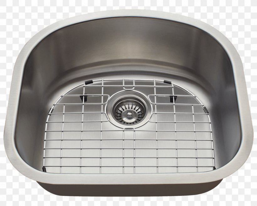 Kitchen Sink Stainless Steel Cabinetry, PNG, 1000x800px, Sink, Bowl, Bowl Sink, Brushed Metal, Cabinetry Download Free
