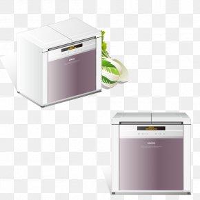 Vector Oven - Refrigerator Small Appliance Congelador PNG