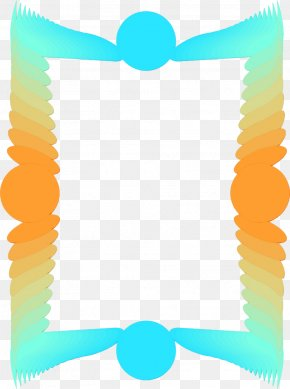 Yellow Film Frame - Background Yellow Frame PNG
