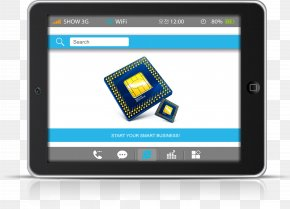 Modern Business Training Flat Display - Tablet Computer Touchscreen Technology Flat Panel Display PNG