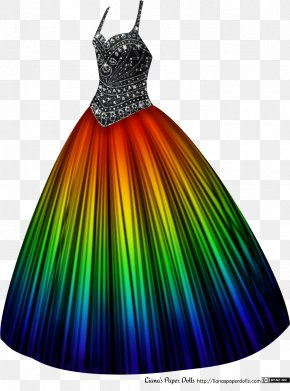 Gown - Wedding Dress Rainbow Shops Ball Gown Clothing Sizes PNG