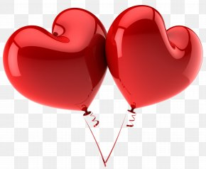 Heart Ballon - Balloon Heart Valentine's Day Stock Photography Clip Art PNG