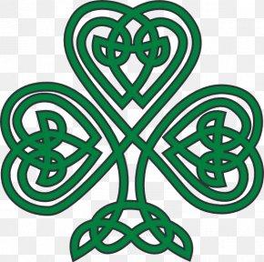 Shamrocks Clipart - Shamrock Celts Celtic Knot Clover Clip Art PNG