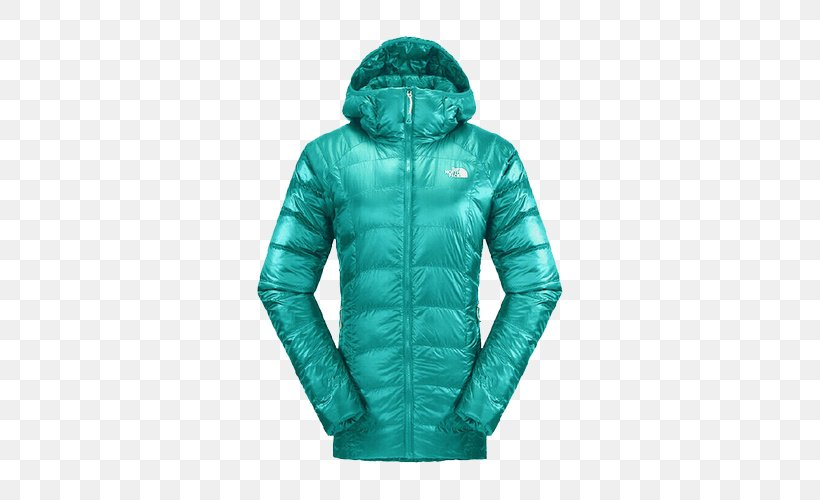 Hoodie The North Face Down Feather Clothing Outerwear, PNG, 500x500px, Hoodie, Clothing, Coat, Daunenjacke, Down Feather Download Free