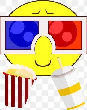 Movie Theatre - Popcorn Cinema 3D Film PNG