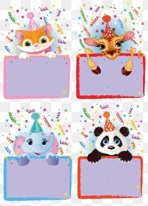 Animal Border Free Download - Cartoon Ornament PNG