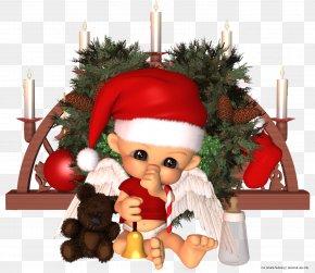 Christmas - Christmas Dolls New Year Santa Claus PNG