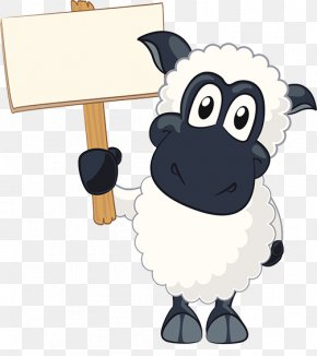 Cartoon Lamb - Sheep Goat Cartoon PNG