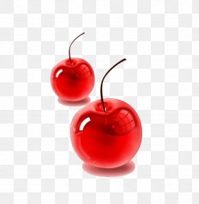 Red Cherry - Cherry Red Glass Tutorial PNG