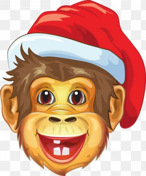 Cartoon Monkey - Monkey Apple Shooter 3D Game 2017 New Year PNG