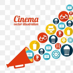 Movie Icon Element PNG