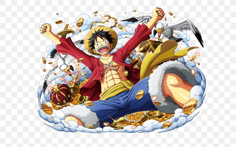 Monkey D. Luffy One Piece Treasure Cruise Shanks Portgas D. Ace Trafalgar D. Water Law, PNG, 640x512px, Watercolor, Cartoon, Flower, Frame, Heart Download Free
