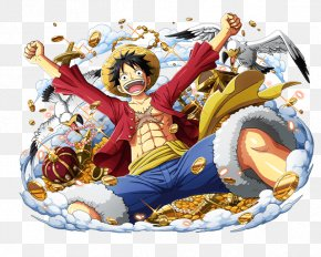 One Piece - Monkey D. Luffy One Piece Treasure Cruise Shanks Portgas D. Ace Trafalgar D. Water Law PNG