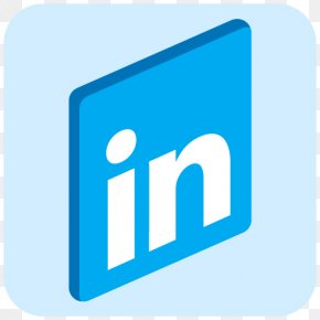 Linkedin Icon Library - Social Media LinkedIn Icon Design PNG