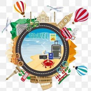 Travel Travel Illustration - Tourism Travel Royalty-free Illustration PNG
