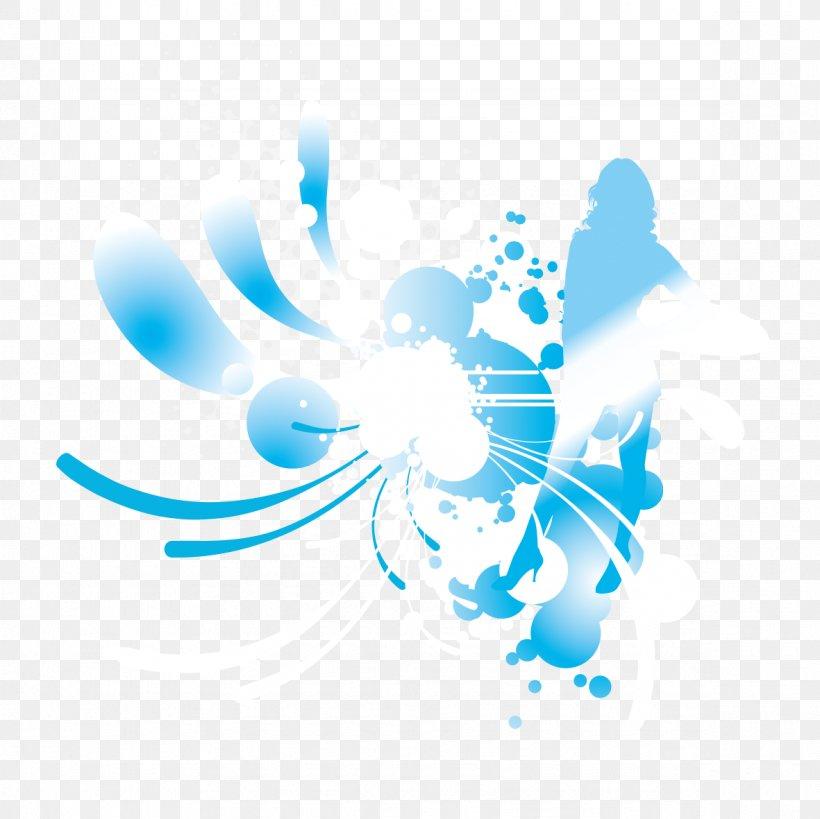 Blue Flash Graphic Design Illustration, PNG, 1181x1181px