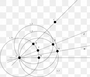 Angle - Angle Trisection Circle Point Compass-and-straightedge Construction PNG