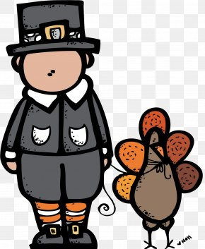 Pilgrim Cliparts Melonheadz - Thanksgiving Day Pilgrims Clip Art PNG