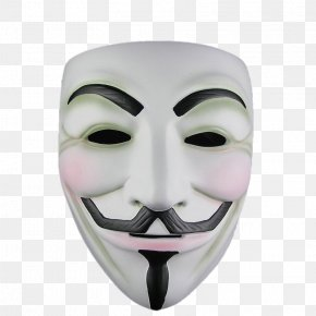 Mask - V For Vendetta Gunpowder Plot Guy Fawkes Mask Anonymous PNG