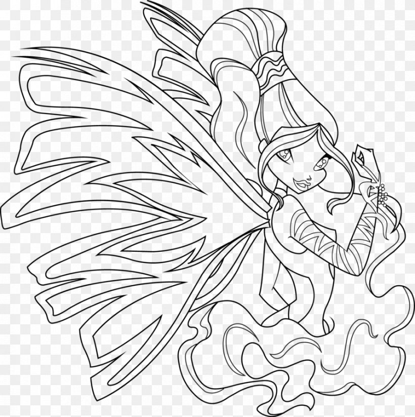 Winx Club Enchantix Coloring Pages Games - Winx Club Bloom ... | 823x820