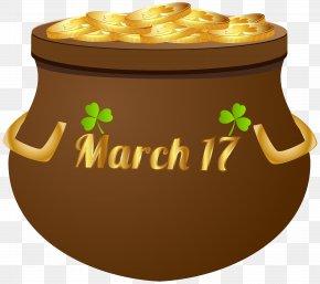 17 March Pot Of Gold PNG Clip Art Image - Saint Patrick's Day Clip Art PNG