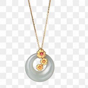 Yuhuan Necklace - Yuhuan Locket Necklace Jewellery PNG