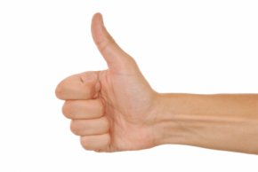 Thumb Up - Thumb Signal Hitchhiking Gesture Clip Art PNG